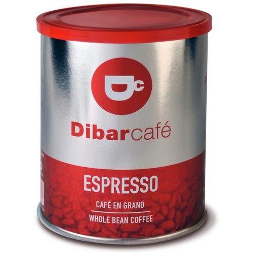 Dibar Cafe Espresso blik gemalen koffie