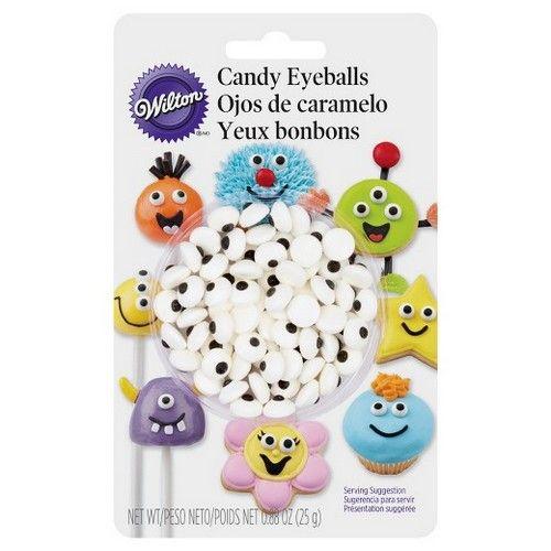 Wilton Candy Eyeballs - 56st. - 10mm