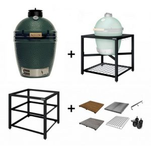 Big-Green-Egg-Medium-met-modulair-tafel-systeem