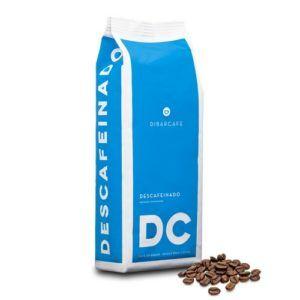 Dibarcafe-decaf-1kg-met-koffiebonen