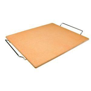 Ibili Pizzasteen vierkant met standaard