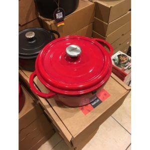 gietijzeren braadpan rood 20cm