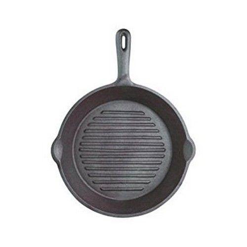 KitchenCraft Grillpan rond 24cm