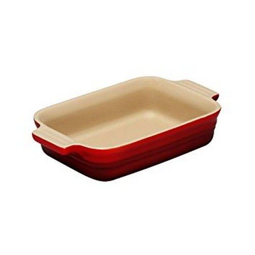 Le Creuset ovenschaal rechthoek - 17cm - rood