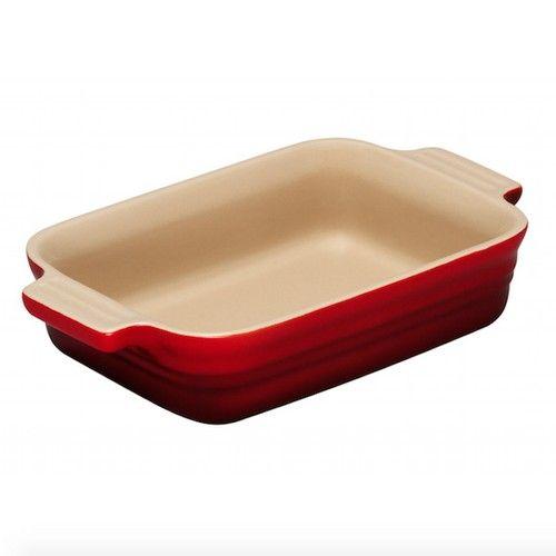 Le Creuset ovenschaal rechthoekig - 26cm - rood