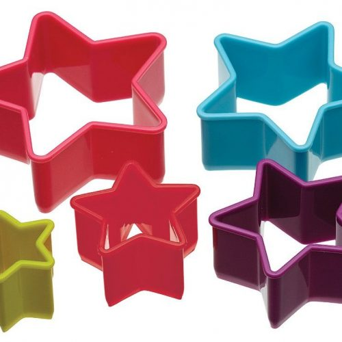 Set van vijf stervormige uitstekers